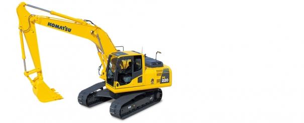 小松PC220-8履带式液压挖掘机