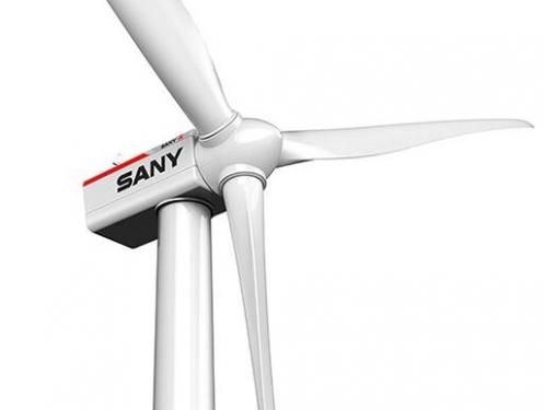 三一重工SE11525高速双馈型风力发电机组