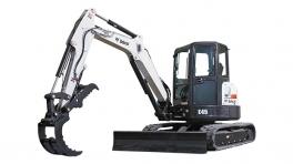 斗山E45小型挖掘机