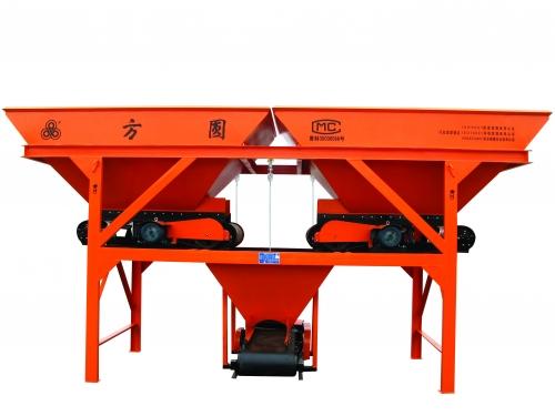 方圆PLD800两种料混凝土搅拌机