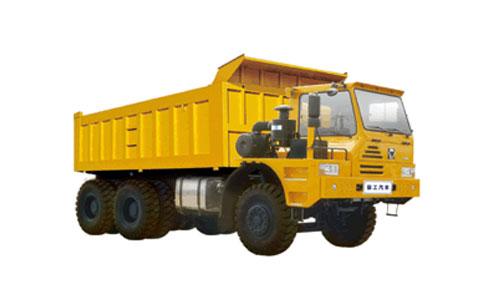 徐工TFH121偏置驾驶室平台6X4矿用自卸车(55吨级)