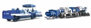 中联重科LZ4500沥青路面就地热再生成套设备