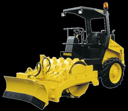 宝马格4系列单钢轮压路机(3吨-6吨)