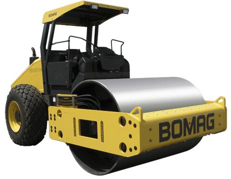 宝马格40系列单钢轮压路机(10吨-15吨)