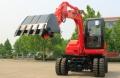 恒特HTL60-9轮式挖掘机