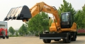 恒特HTL120-9轮式挖掘机