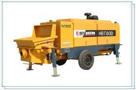 贝司特HBT80D拖式混凝土泵