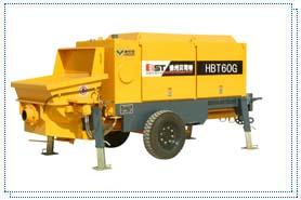 贝司特HBT60G拖式混凝土泵