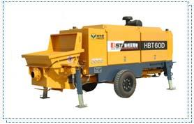 贝司特HBT60D拖式混凝土泵