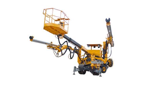 徐工TZ3三臂液压凿岩台车高清图 - 外观