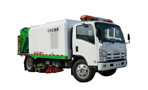 徐工XZJ5100TXS洗扫车高清图 - 外观