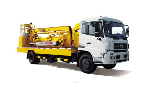 徐工XZJ5290JQJ折臂式桥梁检测车高清图 - 外观